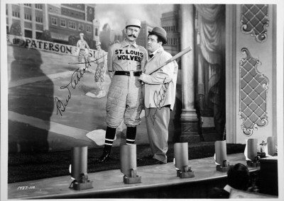 """Who's On First"" Signed Photograph by Bud Abbott & Lou Costello"