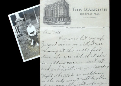 Babe Ruth Letter