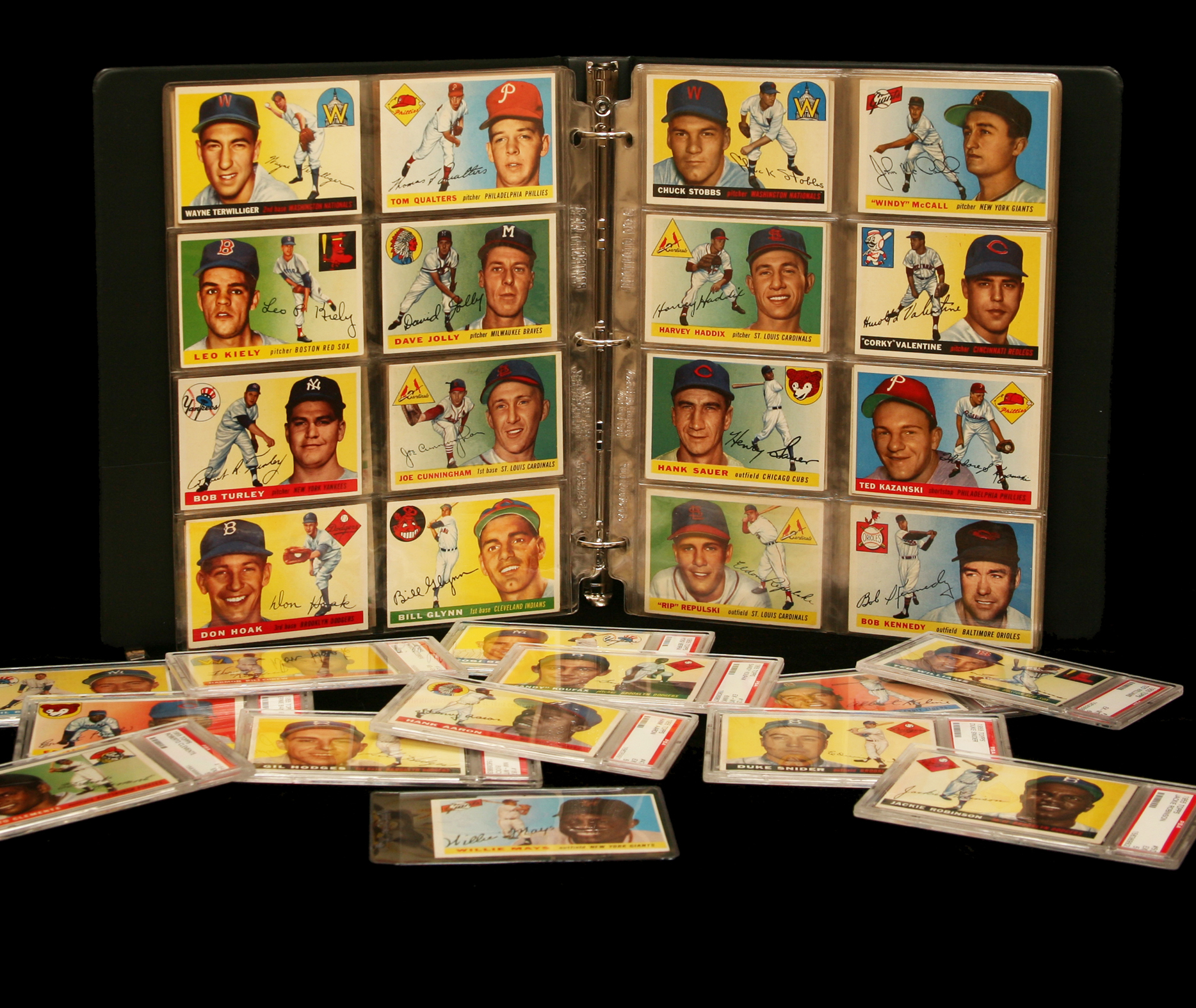Base Ball Cards 1955