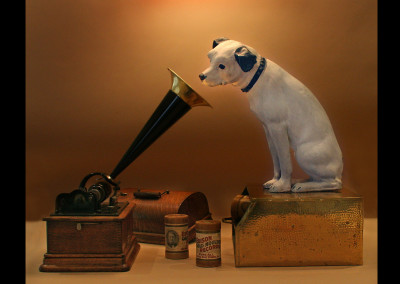 "Original RCA Victor dog ""Nipper"""