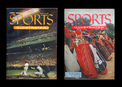 1954 Sports Illustrated first and second issues