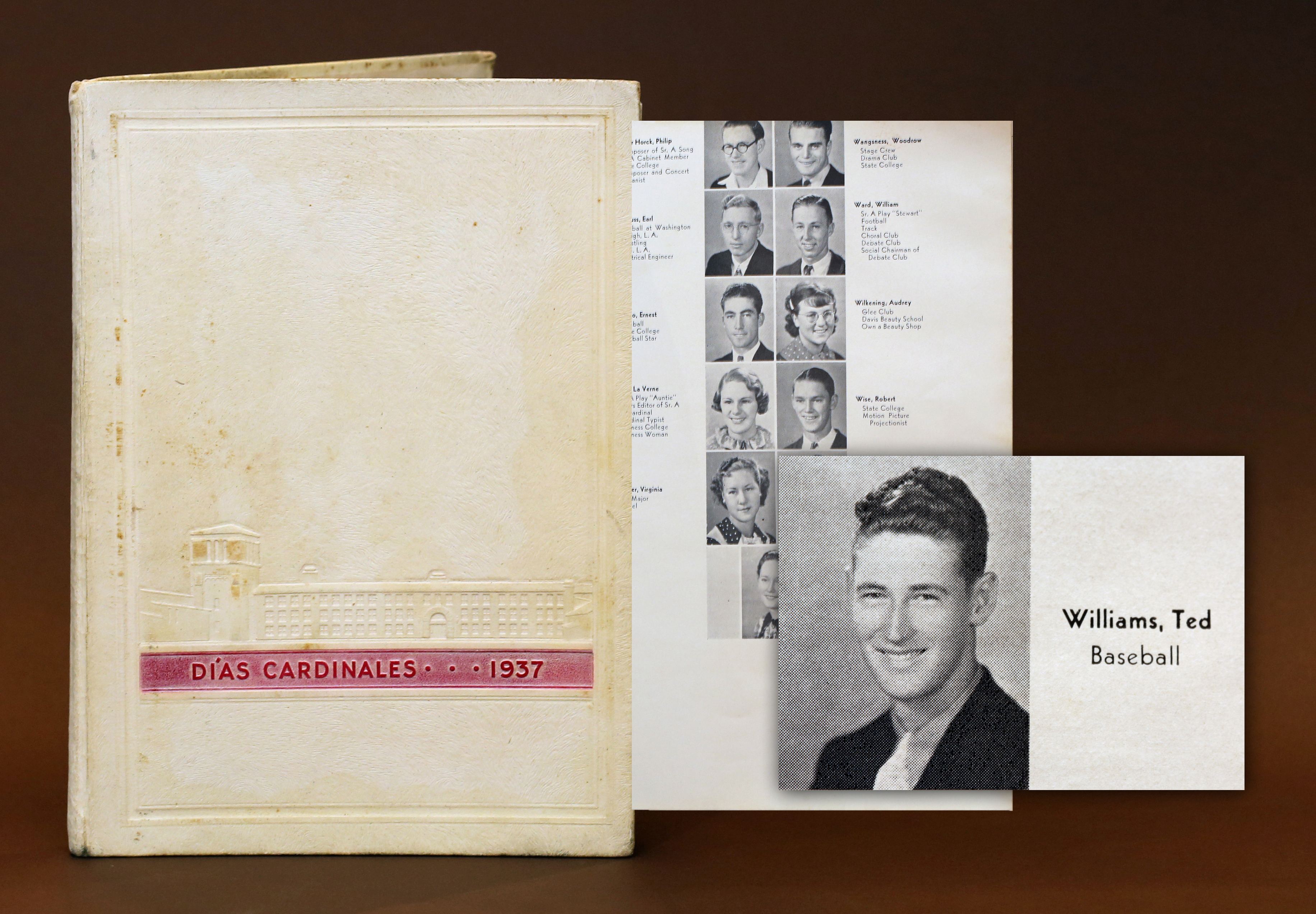 Ted Williams Yearbook