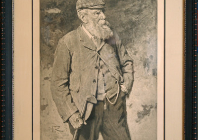 "1903 ""Old Tom"" Morris Signed Print"