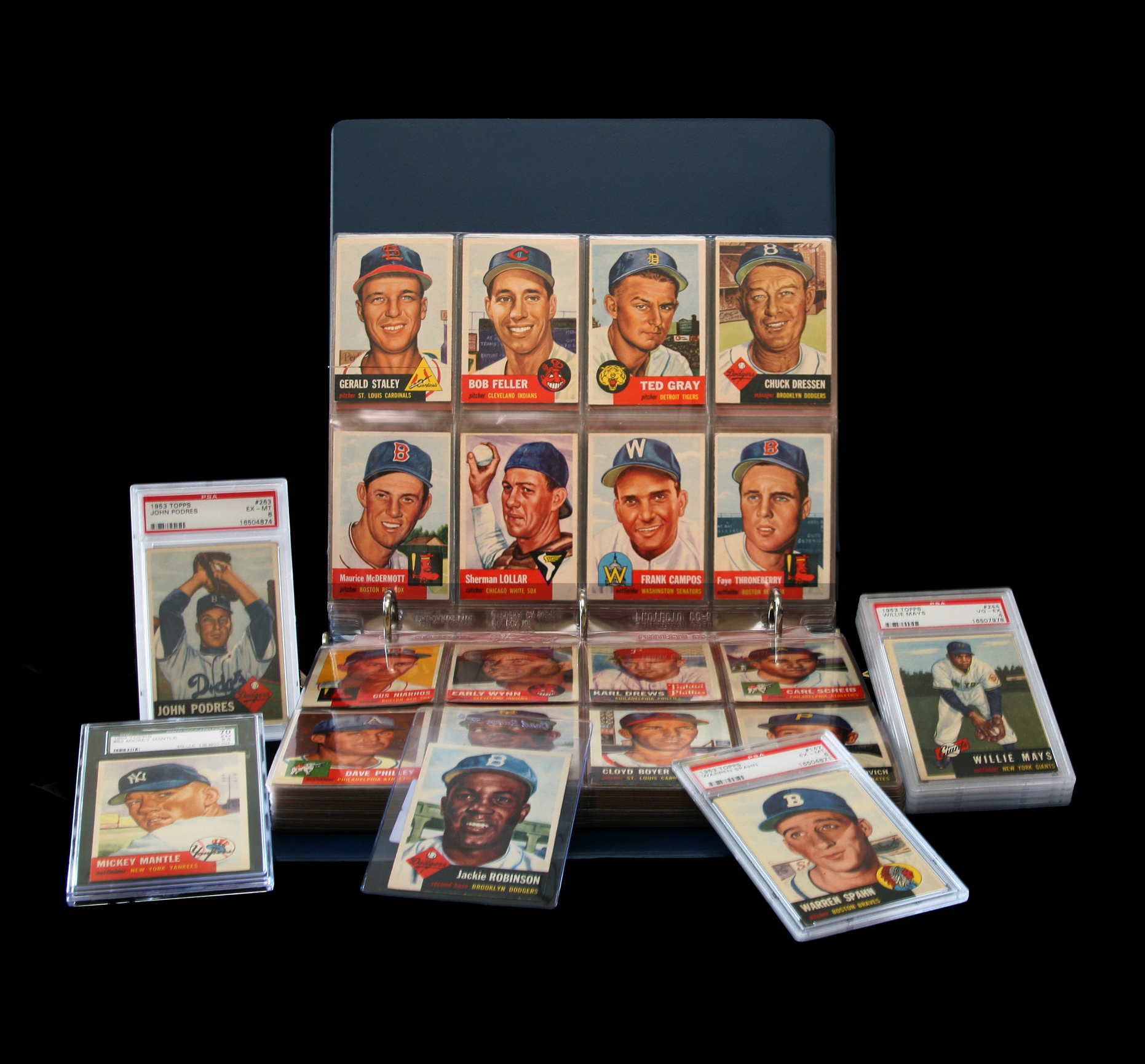 Topps Cards 1953
