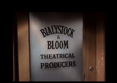 Original Door from The Producers Movie