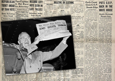 Dewey Defeat Truman Chicago Tribune Front Page