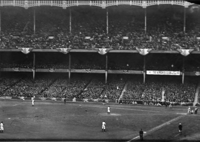 Photo of First Game Played at Original Yankee Stadium